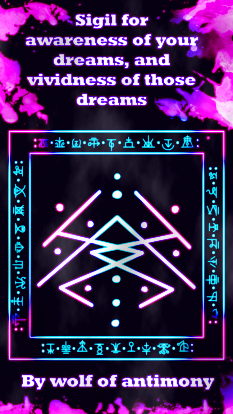 Sigil for awareness of your dreams, and vividness of those dreams 2.png